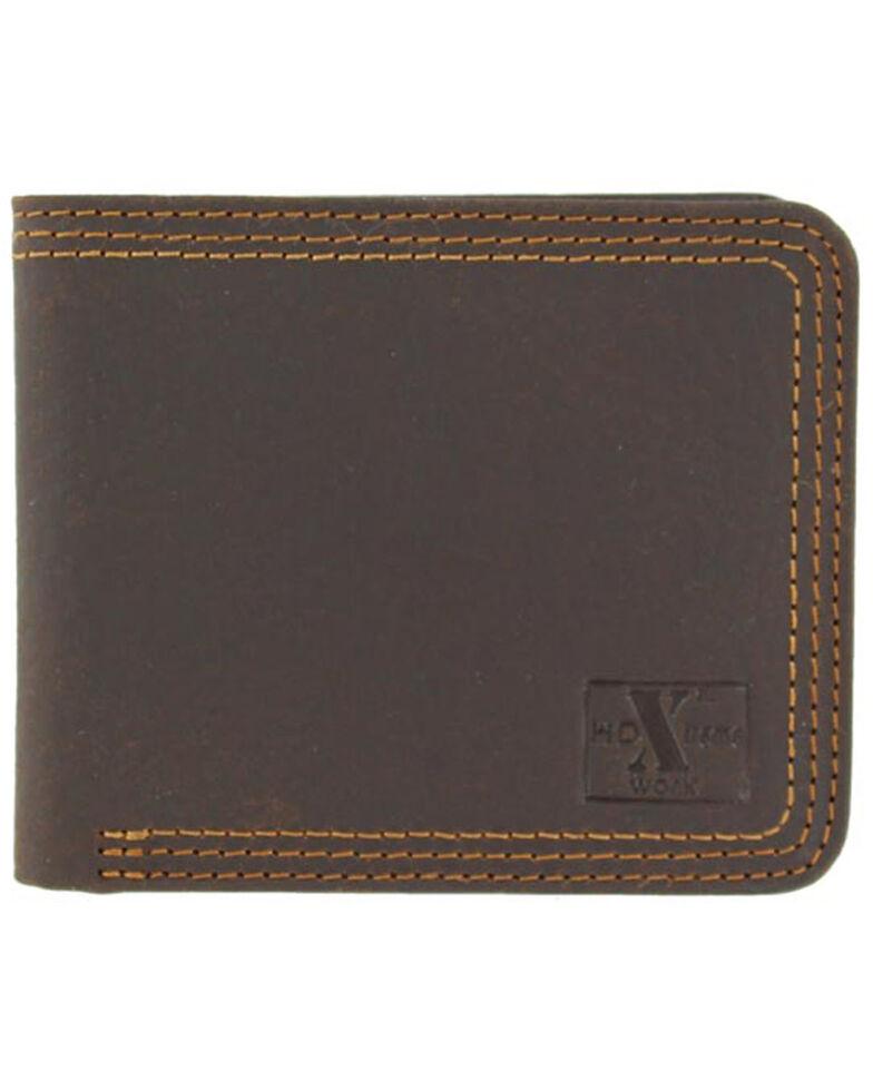 Nocona Men's HD Xtreme Work Wallet, Brown, hi-res