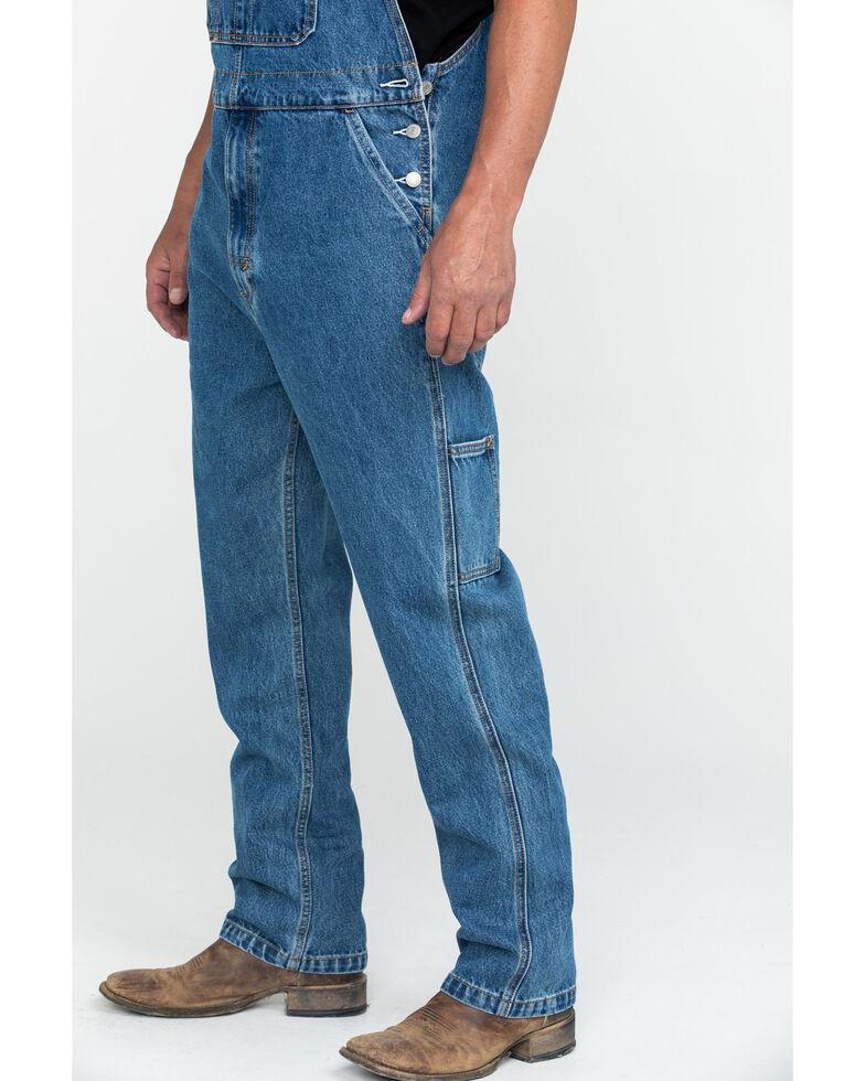 Levis' Men's Stonewash Regular Relaxed Straight Overalls , Light Blue, hi-res
