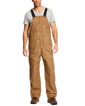 Ariat Men's FR Insulated Bib 2.0 Overalls , Beige/khaki, hi-res