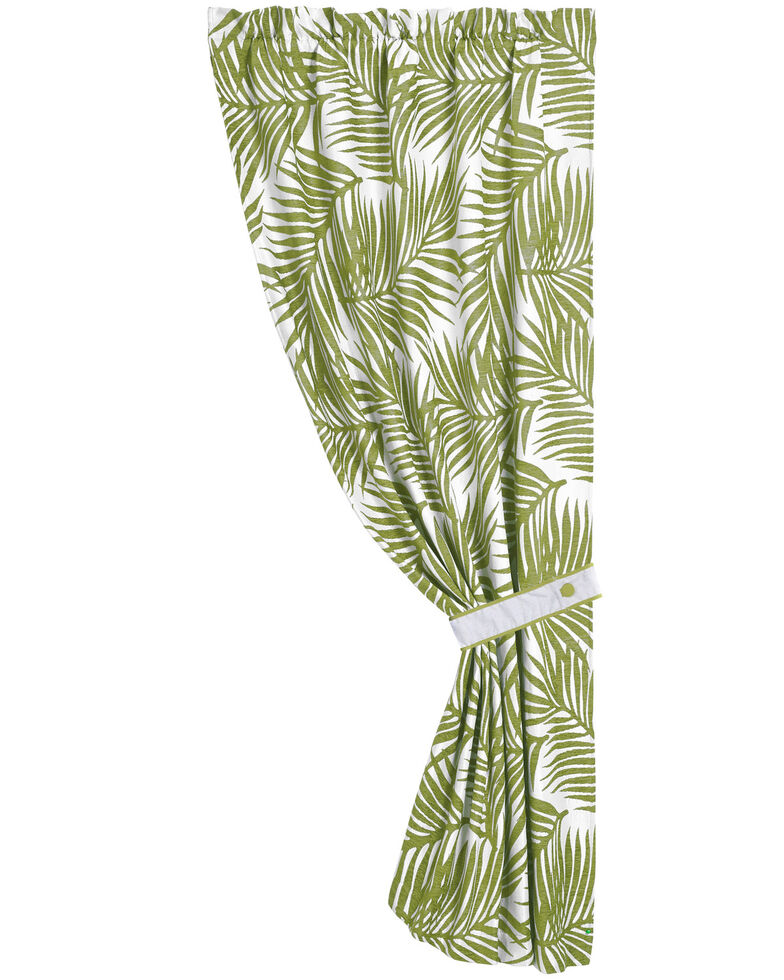 "HiEnd Accents Fern Curtain, 48""X 84"", Multi, hi-res"