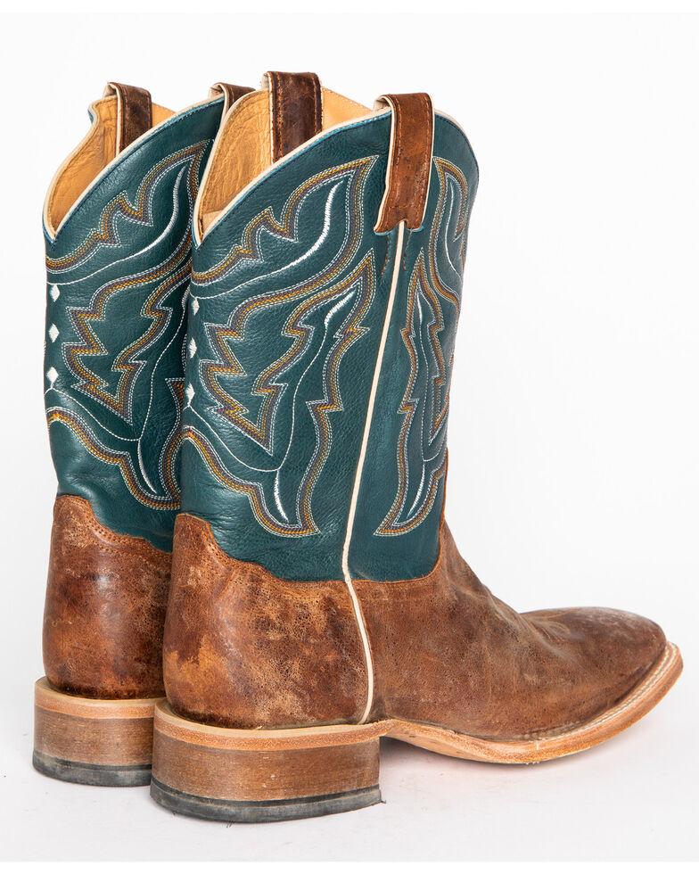 Cody James® Men's Square Toe Western Boots, Navy, hi-res