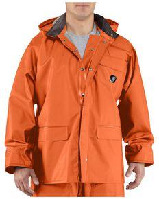 Carhartt Surrey Rain Coat, Orange, hi-res