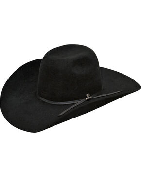Ariat Men's 6X Fur Felt Cowboy Hat, Black, hi-res