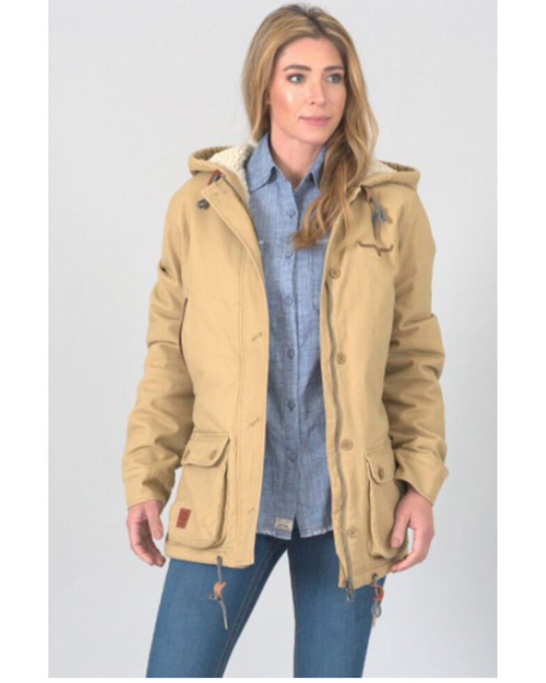 Kimes Ranch Women's Camel All Weather Anorak, Camel, hi-res