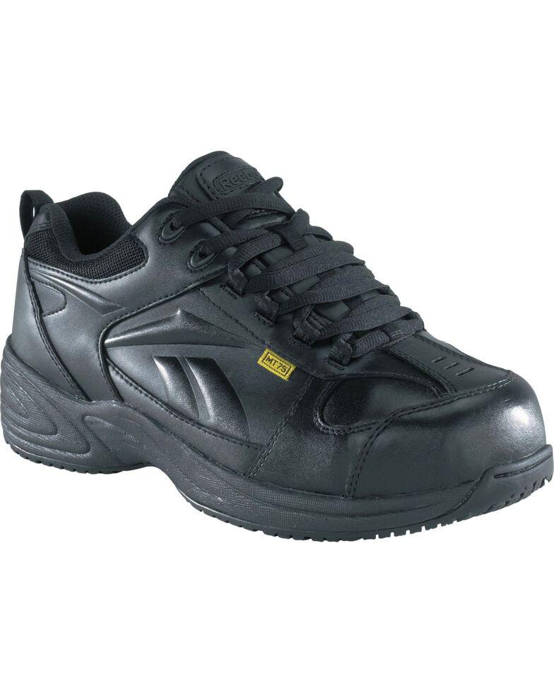 Reebok Men's Centose Internal Met Guard Work Shoes, Black, hi-res