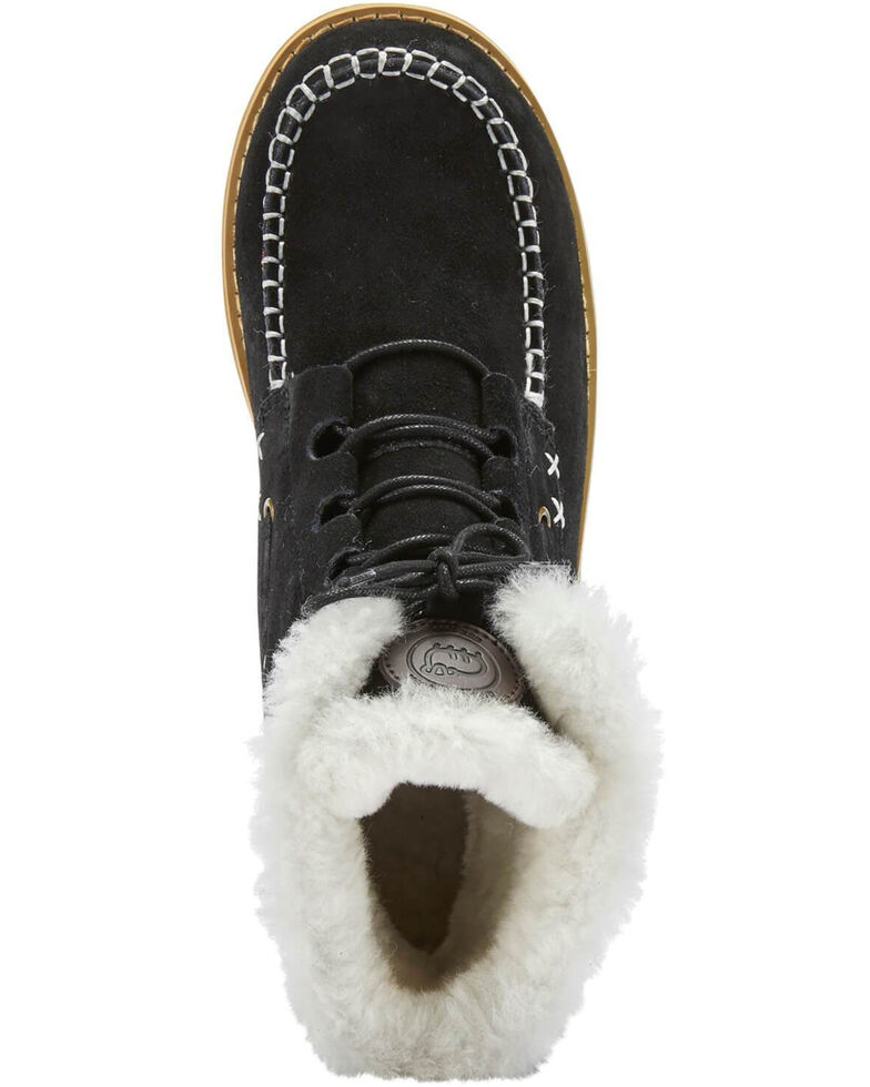 Lamo Footwear Women's Black Meru Winter Boots - Moc Toe, Black, hi-res