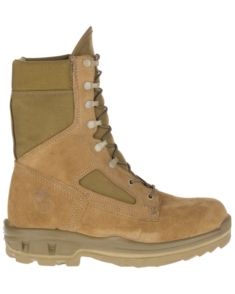 Bates Men's USMC Durashocks Hot Weather Tactical Boots - Soft Toe, Olive, hi-res