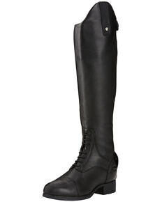 Ariat Women's Bromont Pro H2O Insulated Riding Boots, Black, hi-res
