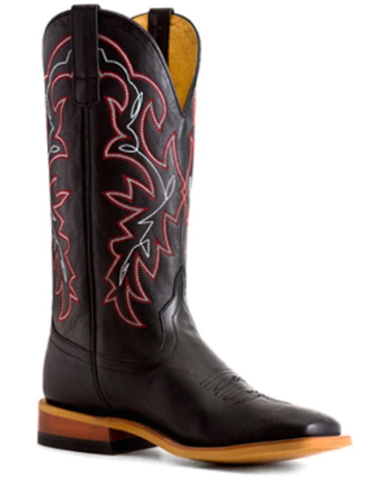 HorsePower Men's Black Magic Western Boots - Square Toe, Black, hi-res