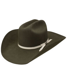 Resistol Men's 6X Sage Creek Western Felt Hat , Sage, hi-res