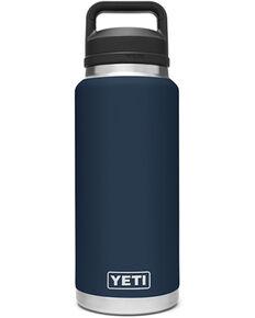 Yeti Rambler 36oz Navy Chug Bottle, Navy, hi-res