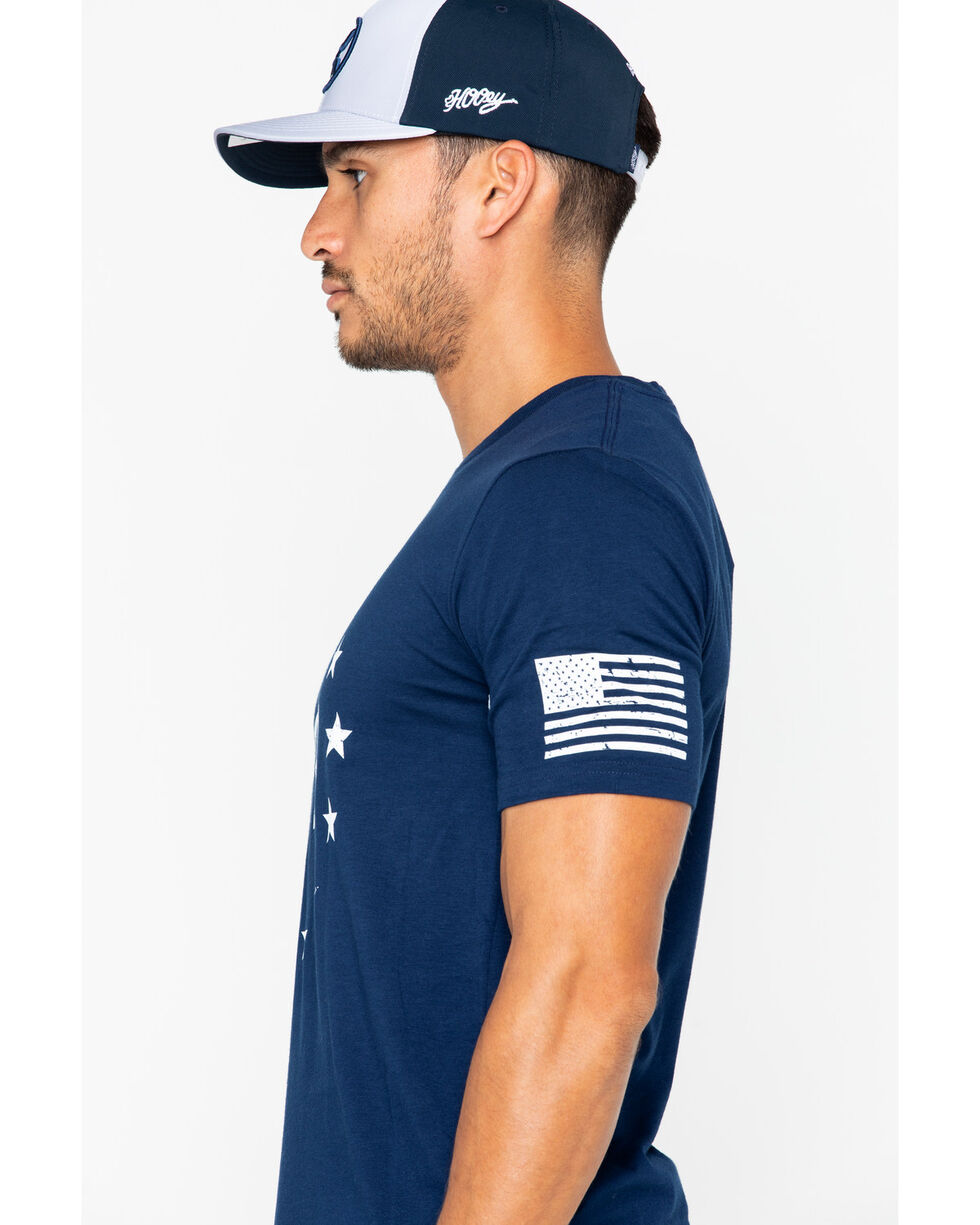 Under Armour Men's Freedom Logo T-Shirt, Navy, hi-res