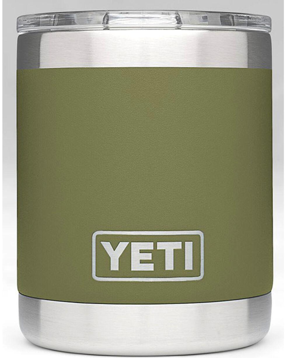 Yeti Olive Green 10 oz. Lowball Rambler , , hi-res