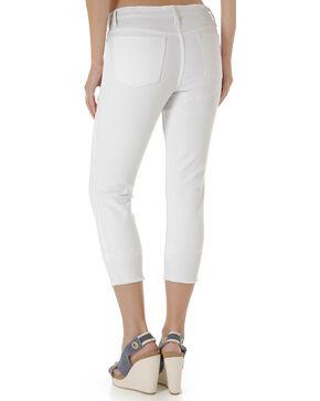 Wrangler Women's Retro White Cropped Jeans, White, hi-res