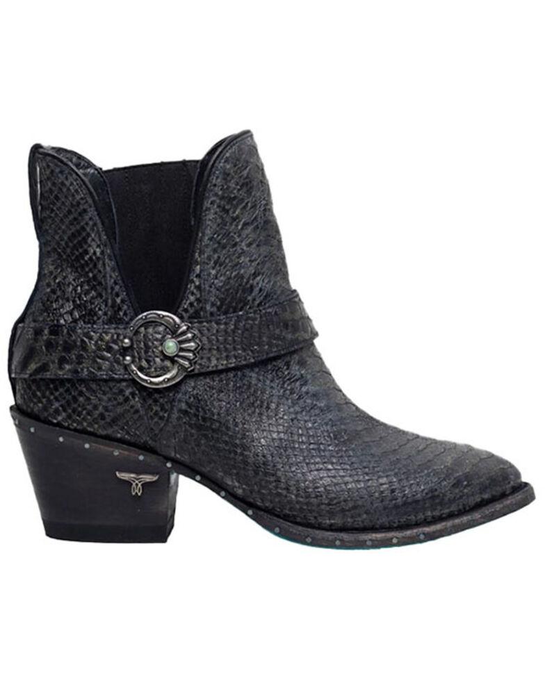Lane Women's Mattie Fashion Booties - Round Toe, Black, hi-res