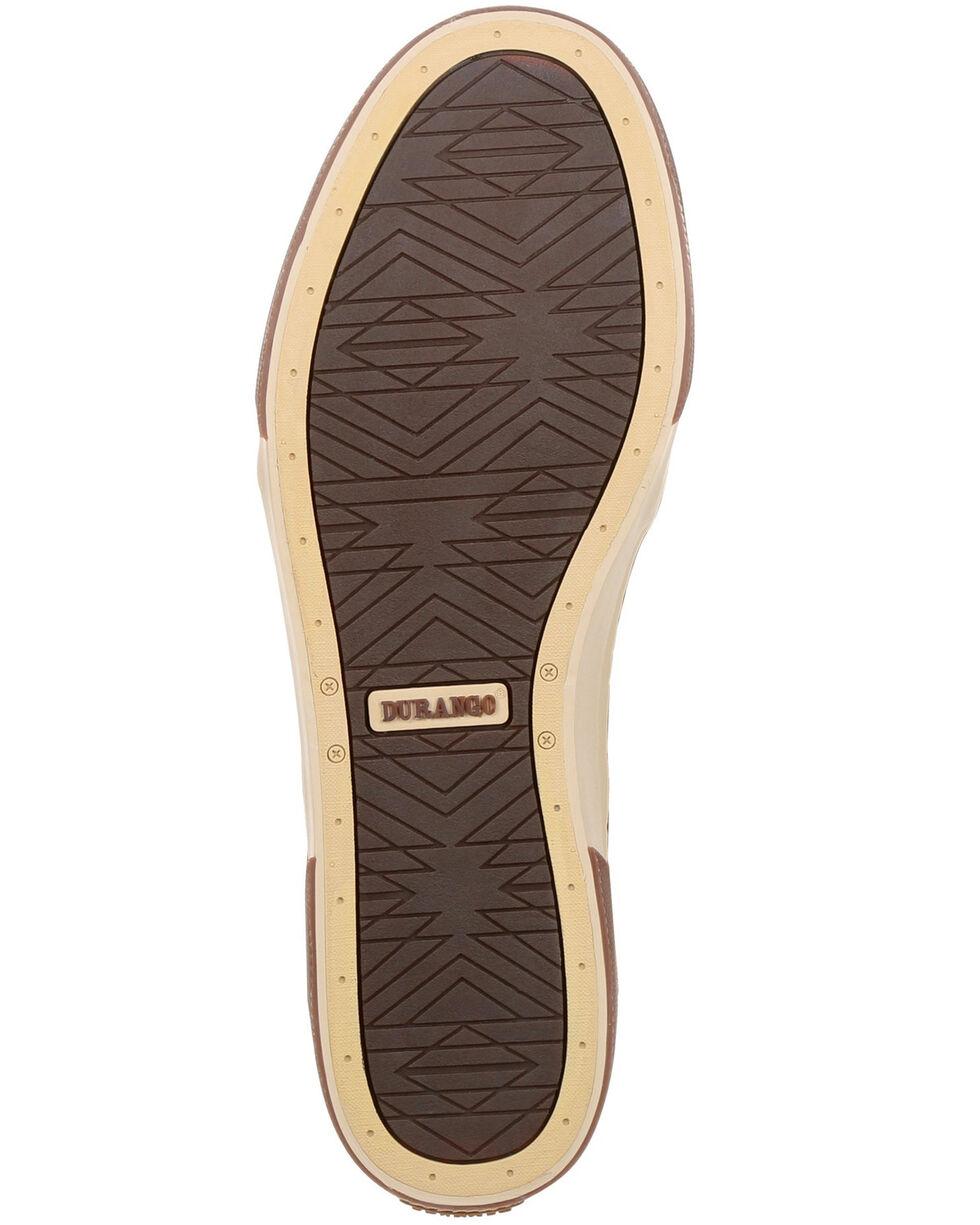 Durango Men's Music City Faux Elephant Boat Shoes - Moc Toe, Brown, hi-res