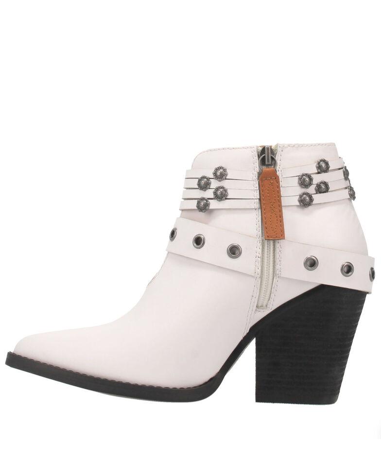 Dingo Women's Born To Run Fashion Booties - Medium Toe, White, hi-res