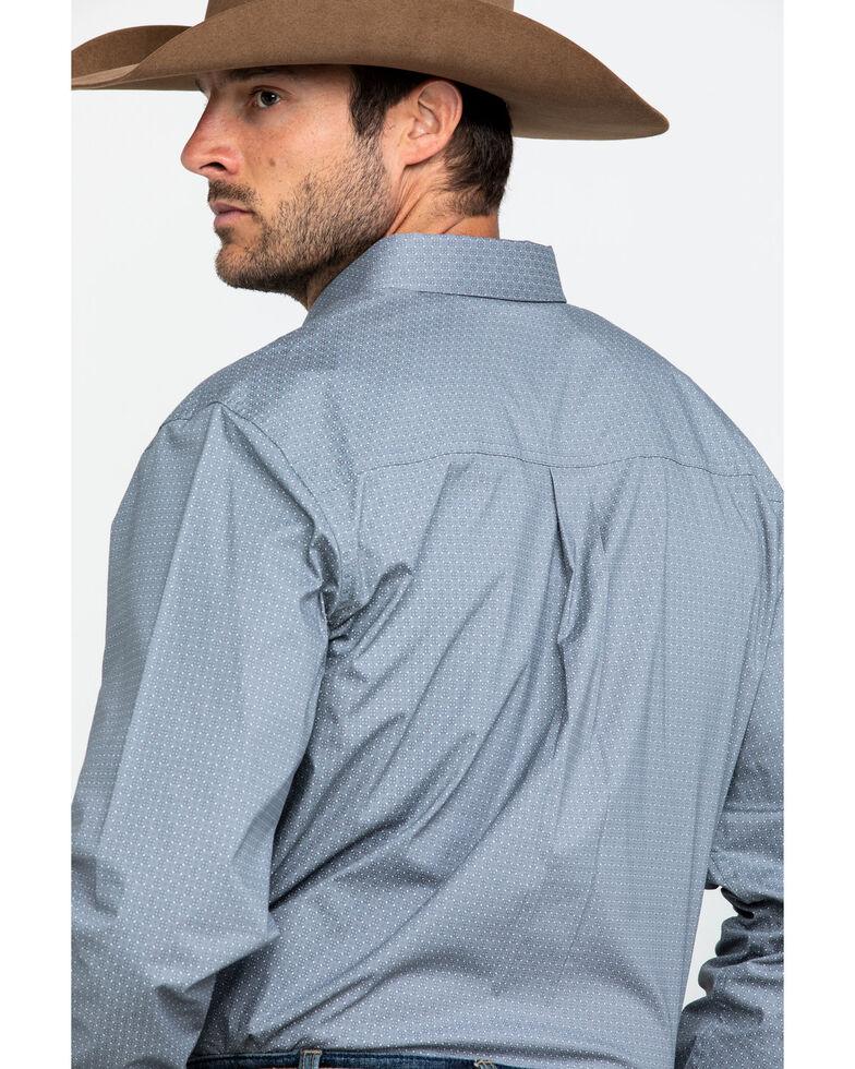 Cody James Core Men's Firesky Geo Print Long Sleeve Western Shirt, Grey, hi-res