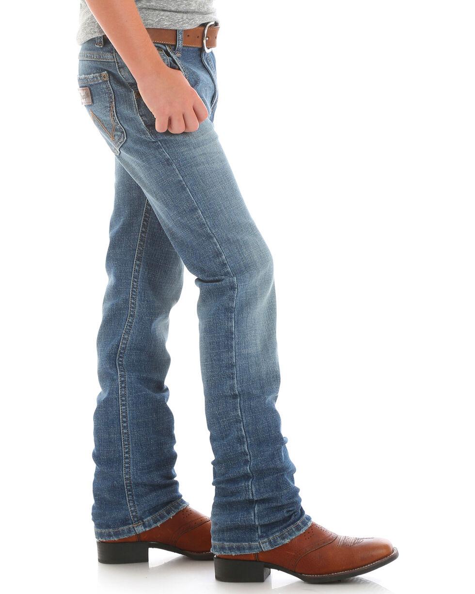 Wrangler Boys' (1T-7) Retro Slim Fit Jeans - Straight Leg , Indigo, hi-res