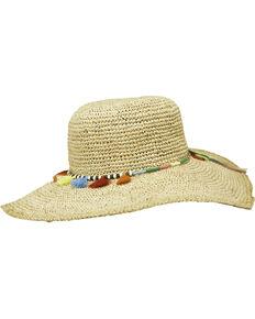 Peter Grimm Women's Natural Jama Straw Hat , Natural, hi-res
