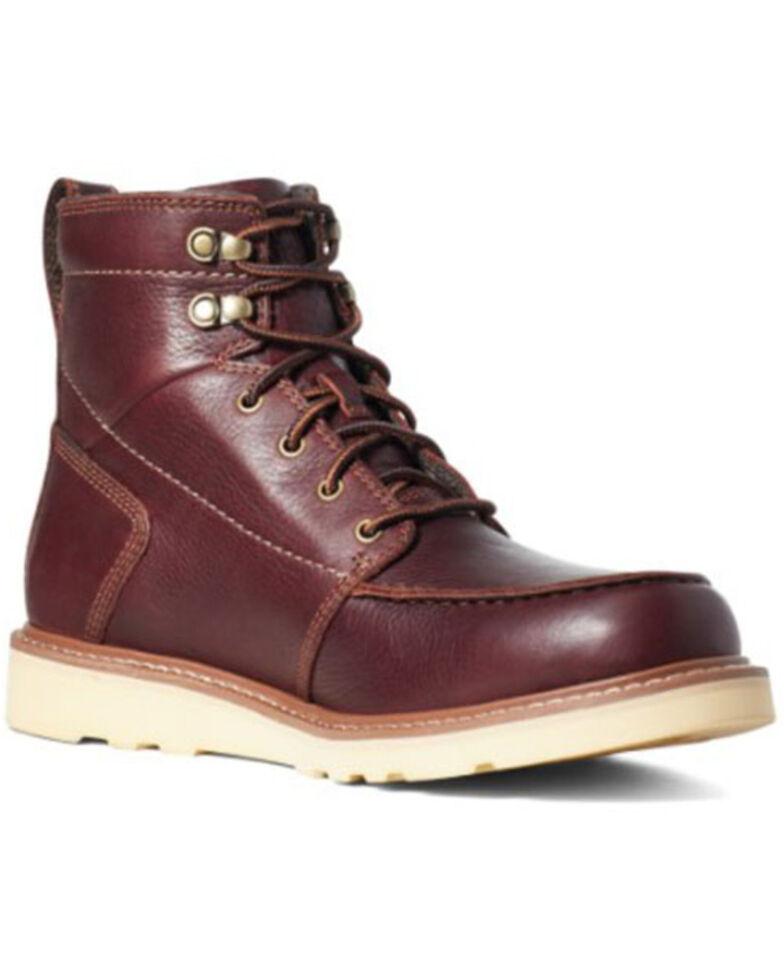 Ariat Men's Recon Copper Work Boots - Soft Toe, Brown, hi-res