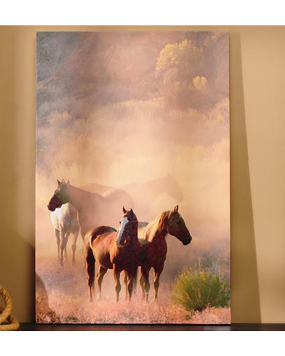 Giftcraft Horses Canvas Print , Multi, hi-res
