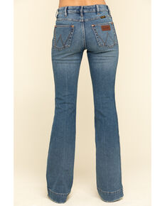 Wrangler retro Women's Vintage Medium Shelby Trouser Jeans , Blue, hi-res