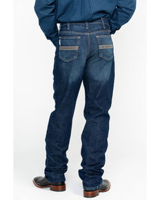 Cinch Men's Silver Label Slim Fit Straight Leg Jeans, Indigo, hi-res