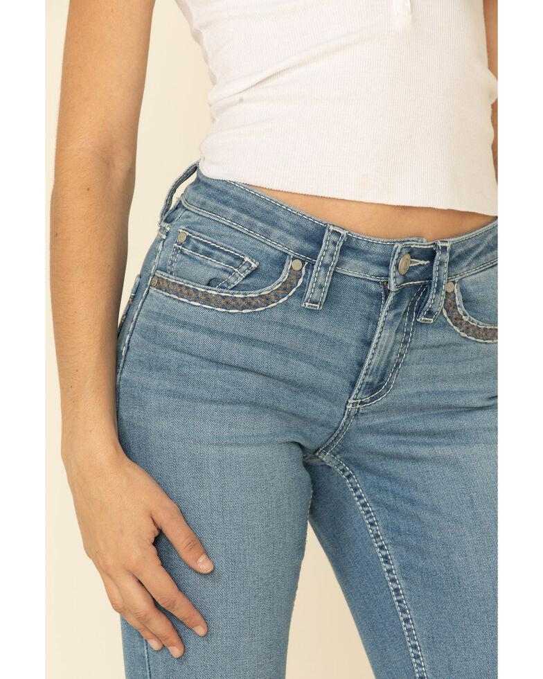 Shyanne Women's Femme Lace Bootcut Jeans, Light Blue, hi-res