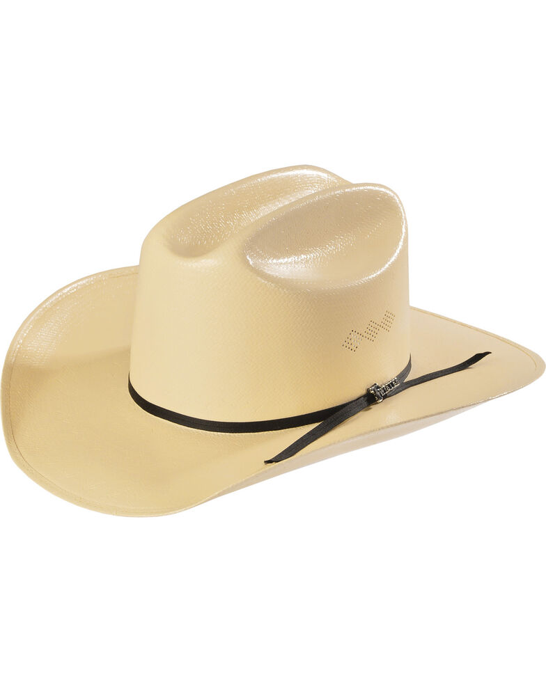 Twister 8X Shantung Double S Straw Cowboy Hat, Natural, hi-res