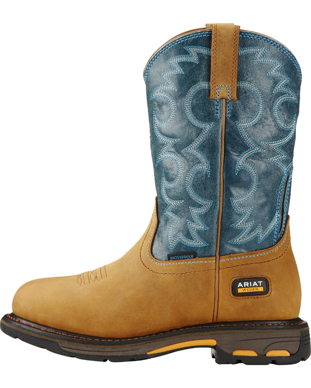 Ariat Women's Blue Workhog H2O Western