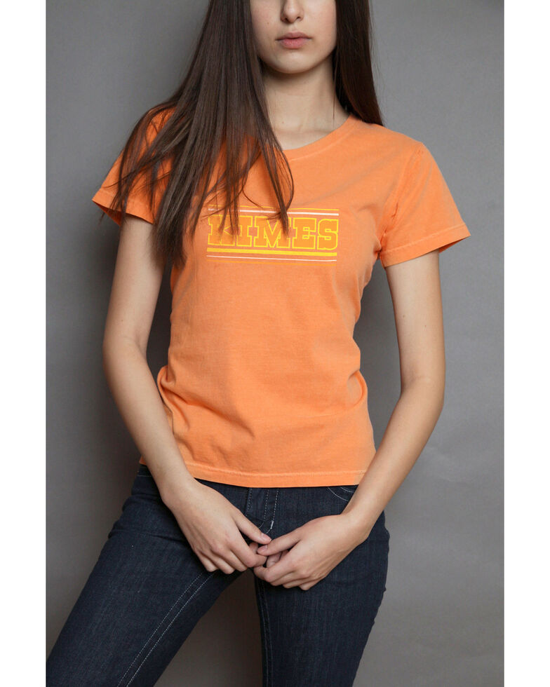 Kimes Ranch Women's Billboard Tee, Orange, hi-res