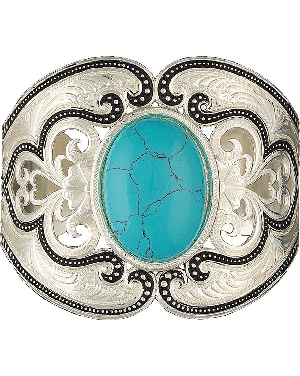 Montana Silversmith's Silver Pinpoints & Lace Cuff Bracelet, Silver, hi-res