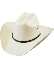 Justin Ivory Gil TexStraw Cowboy Hat , Ivory, hi-res