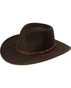 3d6348b87b9 Stetson Sturgis Crushable Wool Hat.  70.99. Stetson Black Hawk ...