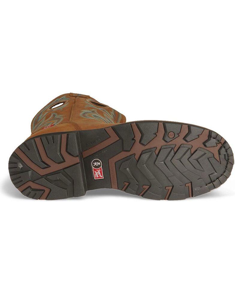 Tony Lama Men's Signature Steel Toe Western Work Boots, Tan, hi-res