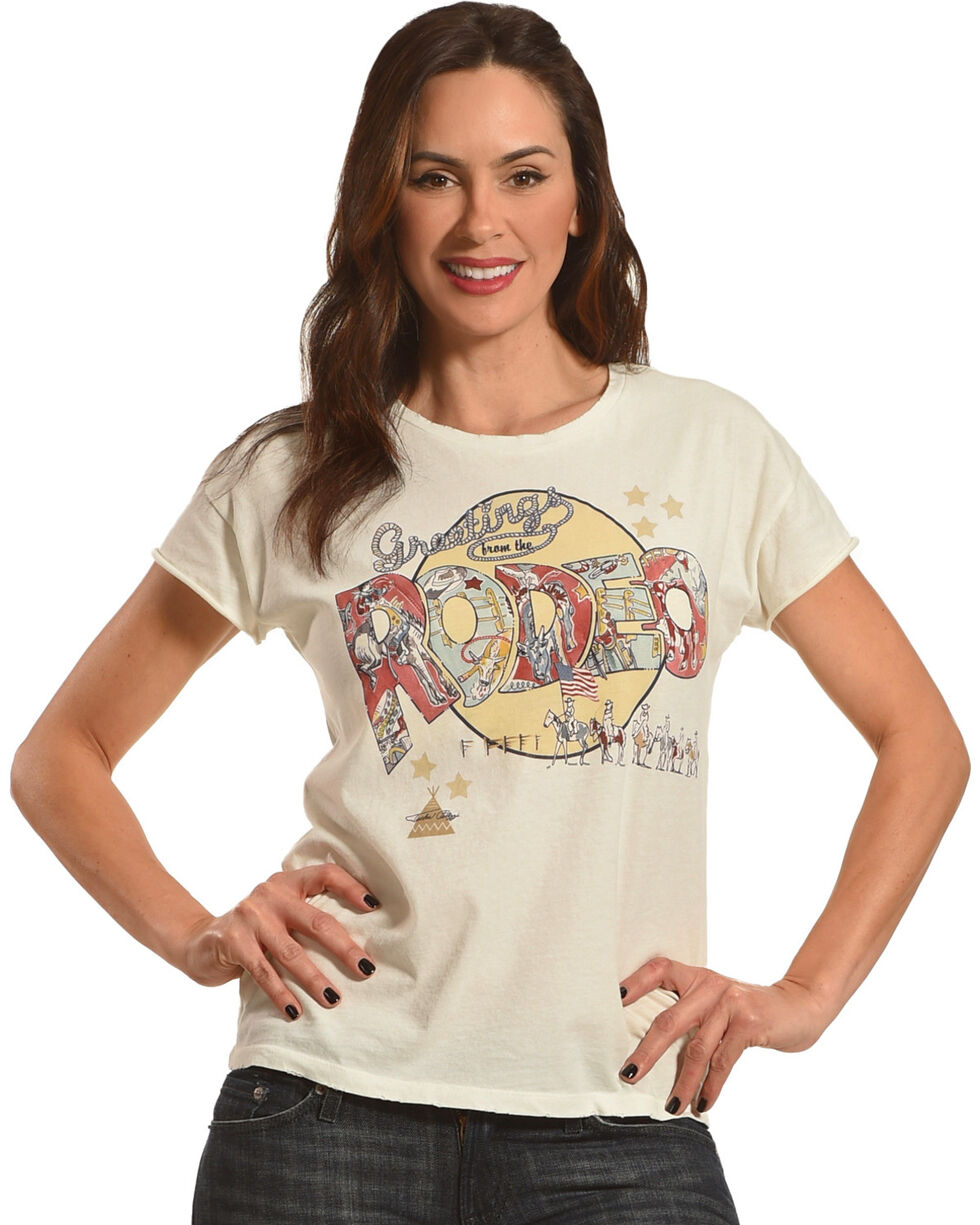 Tasha Polizzi Women's Rodeo Tee Shirt, , hi-res