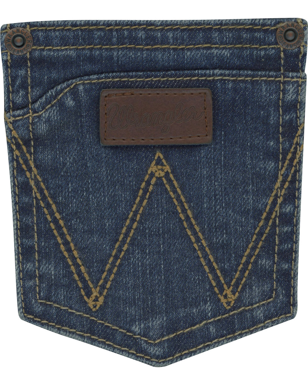 Wrangler Retro Boys' Lawton Relaxed Jeans (1T-7) - Boot Cut, Indigo, hi-res