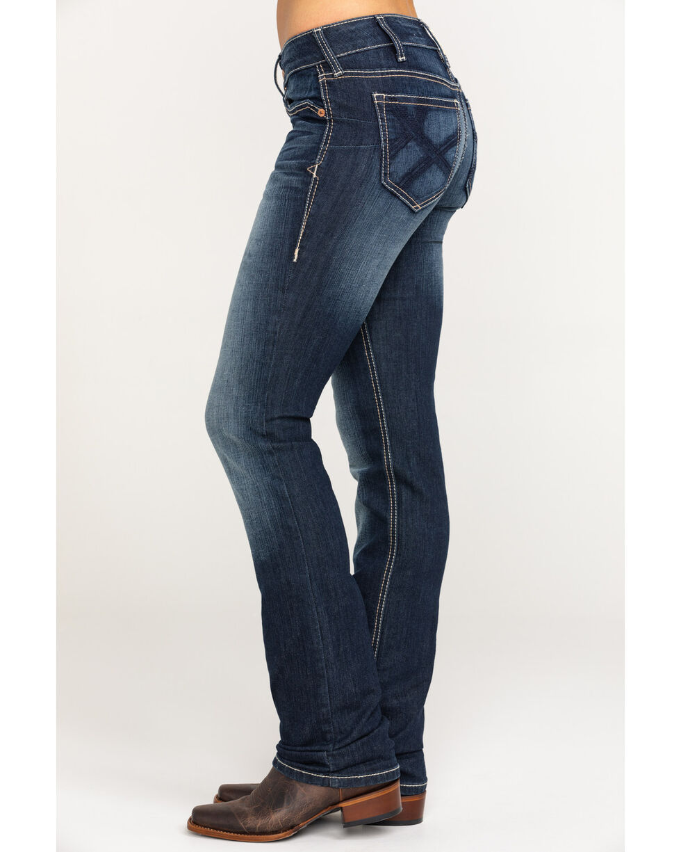 Ariat Women's Real Straight Stitich Ella Jeans, , hi-res
