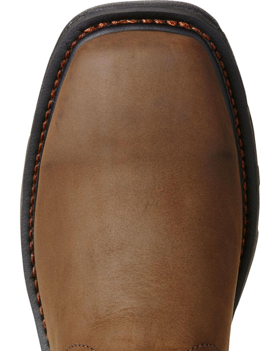 Ariat Men's WorkHog® H2O Western Work Boots, Brown, hi-res