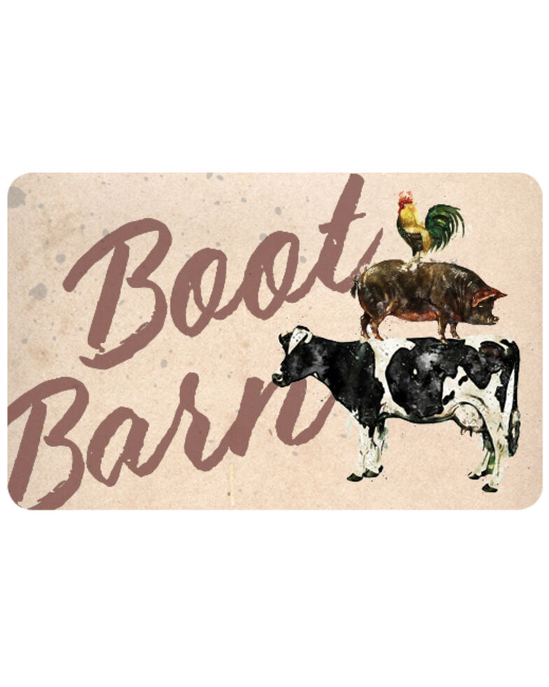 Boot Barn® Farm Animal Gift Card, No Color, hi-res