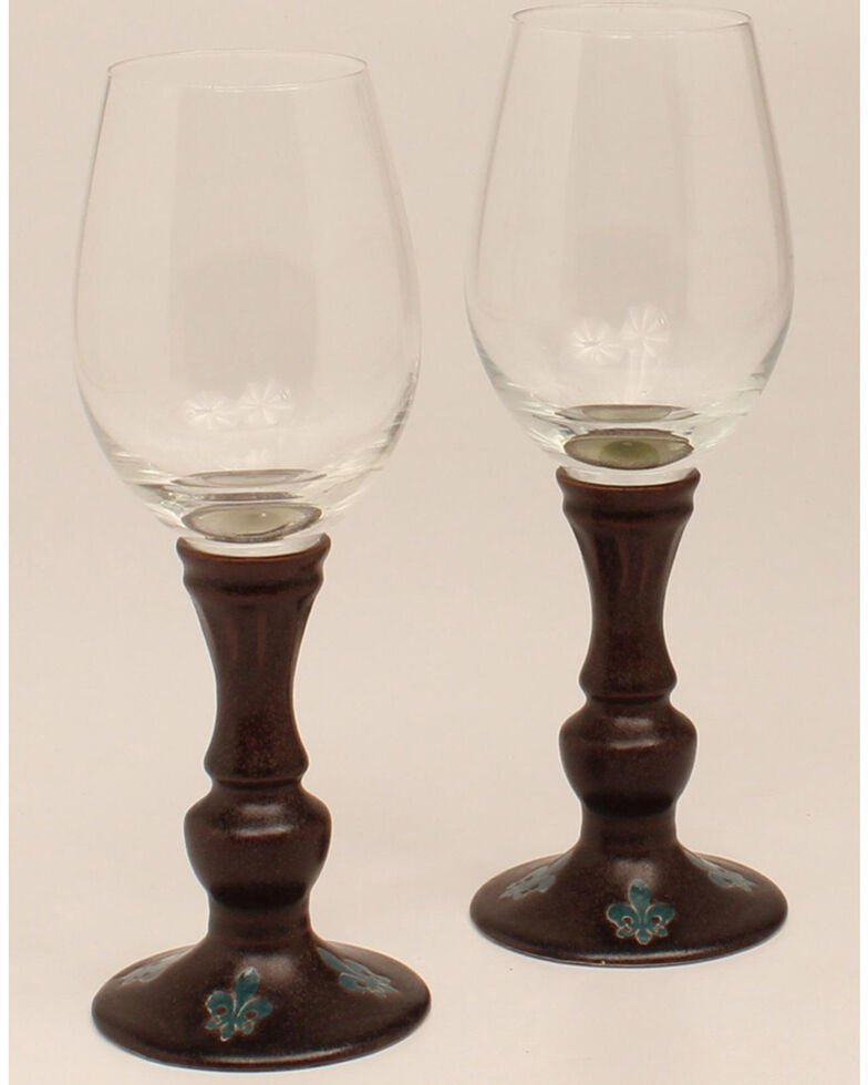 Western Moments Monarch Wine Glasses, Multi, hi-res