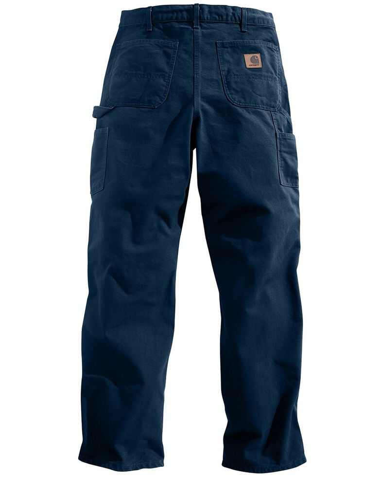Carhartt Washed Duck Work Dungaree Utility Pants, Midnight, hi-res