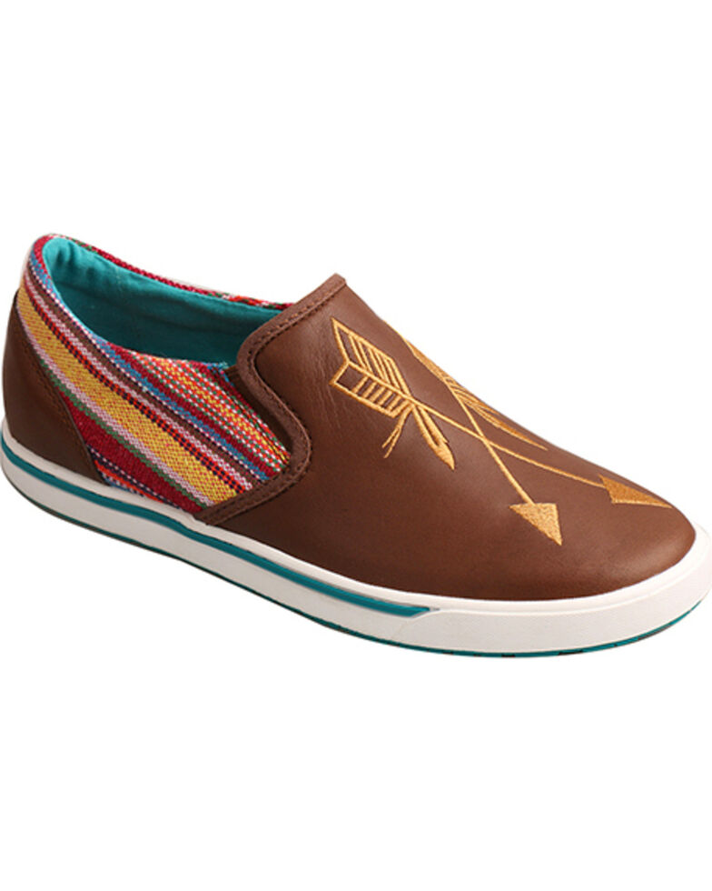 Twisted X Women's Casual Shoes, Brown, hi-res