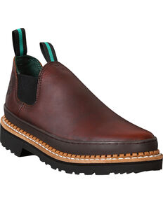 Georgia Boots Men's Georgia Giant Romeo Steel Toe Work Shoes, Brown, hi-res