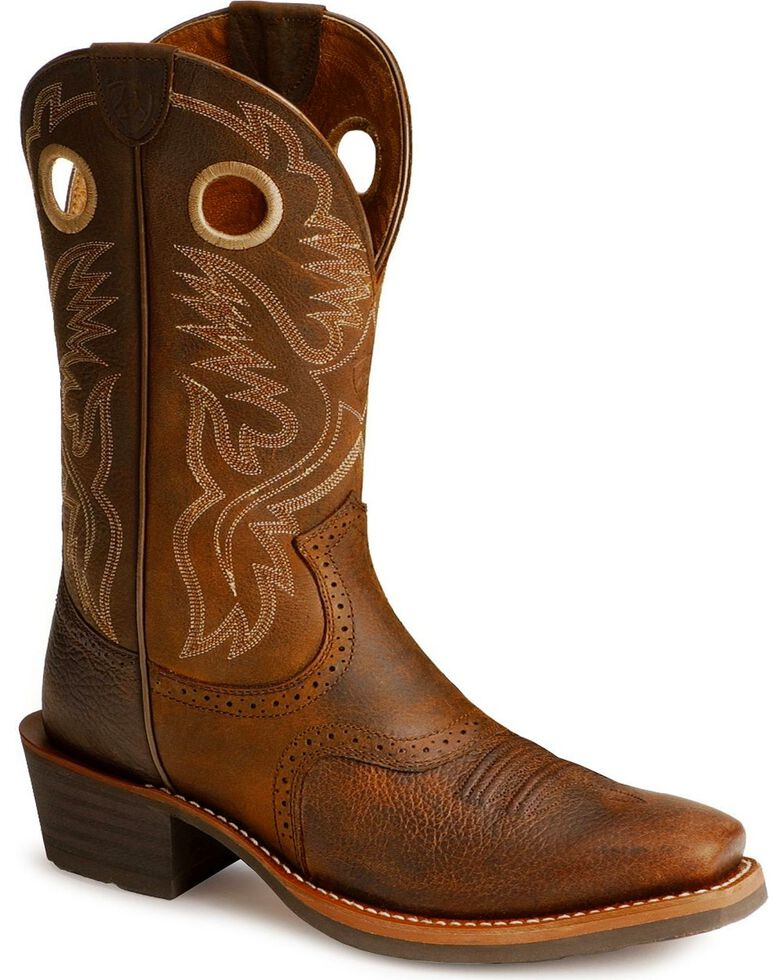 e83d99ce31d Ariat Men's Heritage Roughstock Western Boots - Narrow Square Toe