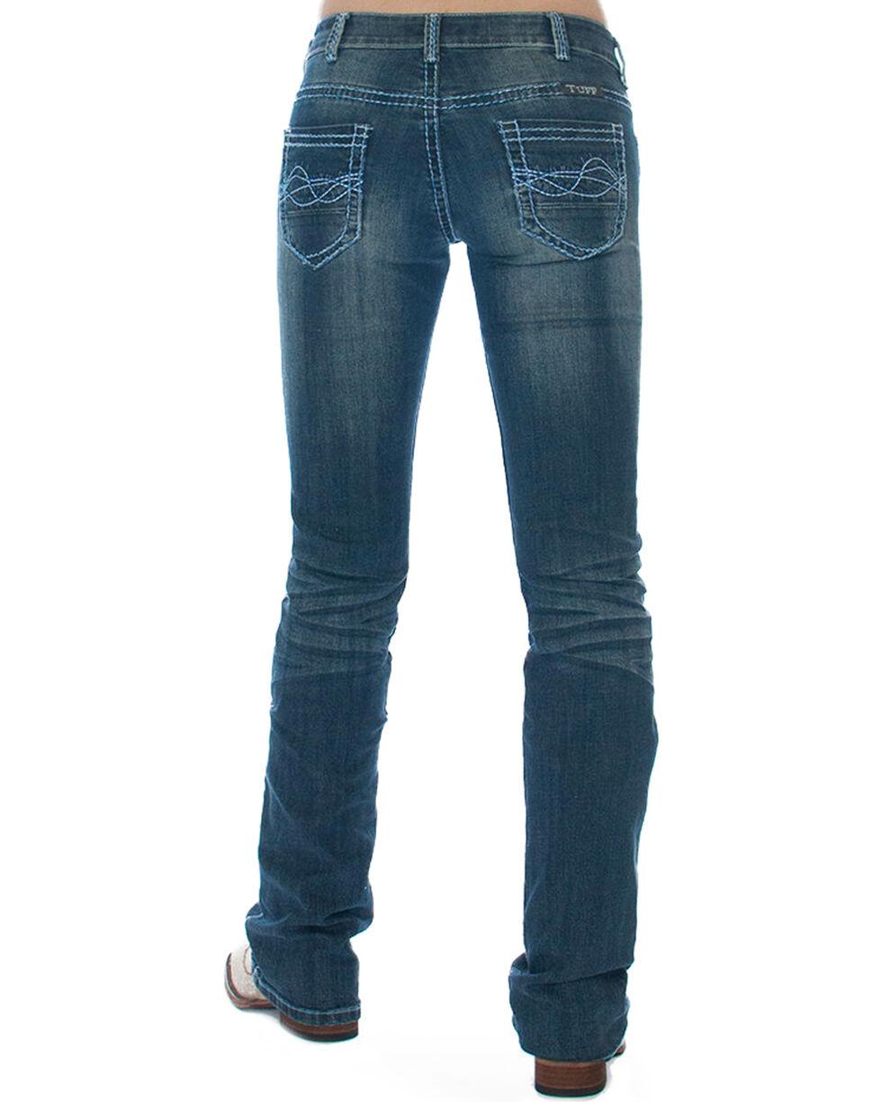Cowgirl Tuff Women's Deja Blue Boot Cut  Jeans , Blue, hi-res