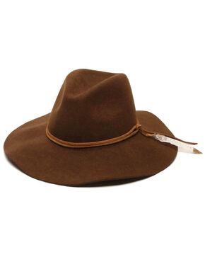 ále by Alessandra Kaci Boho Floppy Felt Hat, Brown, hi-res
