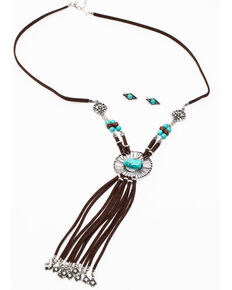 Shyanne Women's Summer Escape Wired Catcher Jewelry Set, Silver, hi-res