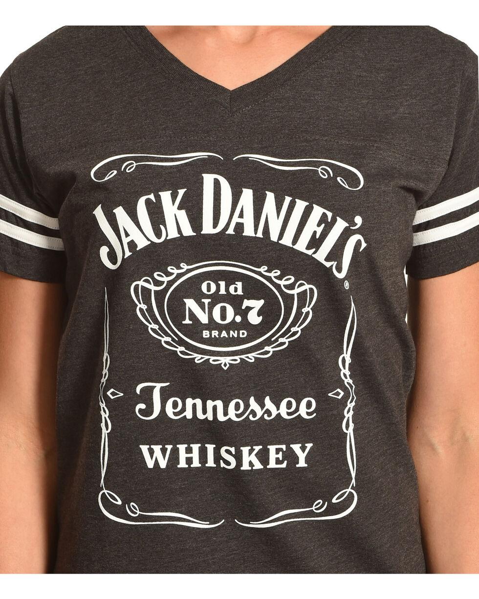 Jack Daniels Women's Grey Label Football T-Shirt , , hi-res